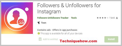 Followers & Unfollowers for Instagram app