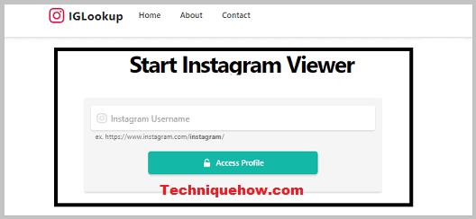 IGLookup instagram viewer