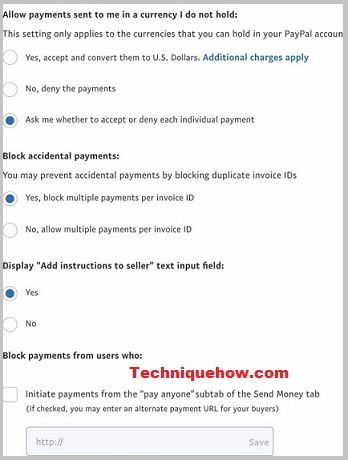 block-someone-on-PayPal-settings