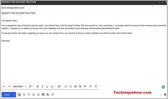 delete-grubhub-account-email