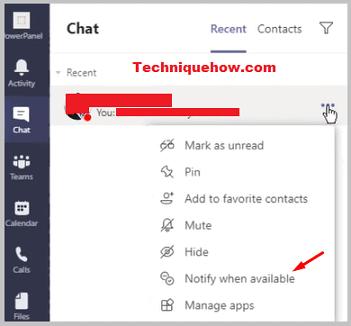 get notified on Microsoft Teams