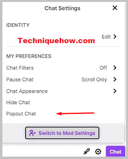 pop out chat_non-mod twitch
