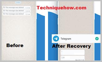 recover messages Telegram