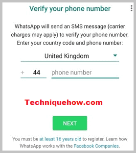 register whatsapp again after 30 days