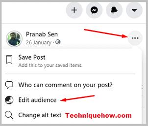 remove Facebook profile picture 1