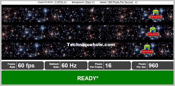 check refresh rate testufo tool