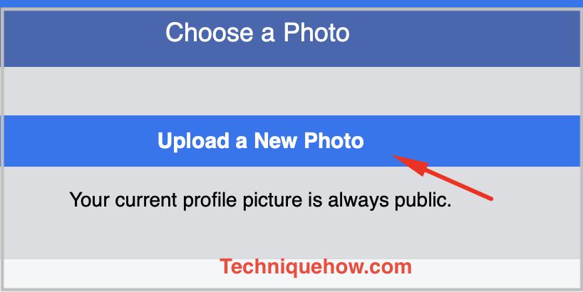 upload photo Facebook