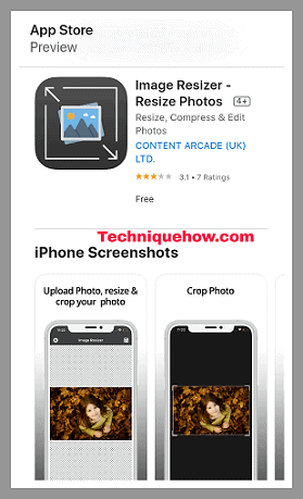 image resizer app ios