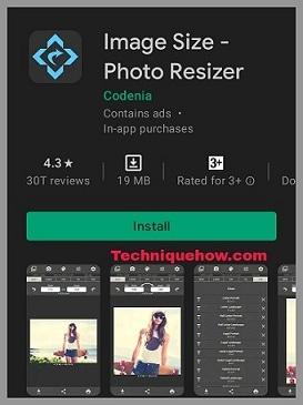 image size app