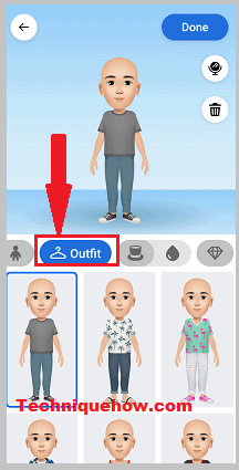 avatars outfits