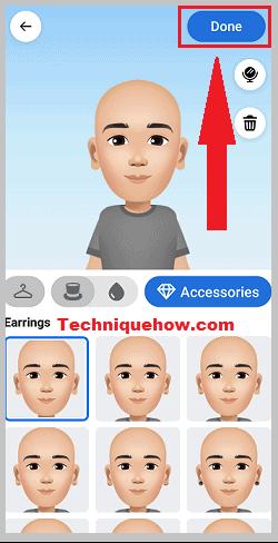 avatar created on ipad