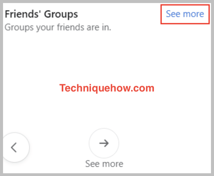 friend's group see more