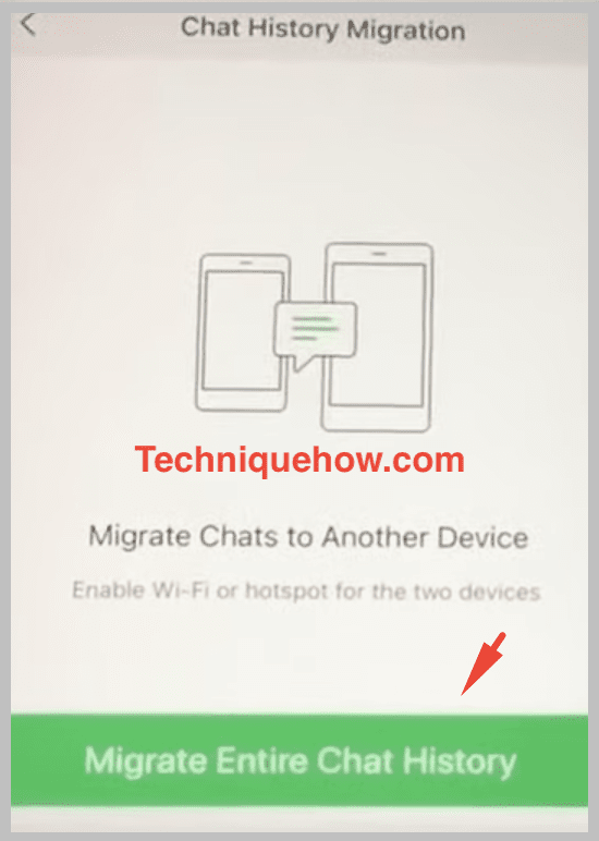 migrate iphone to iphone wechat