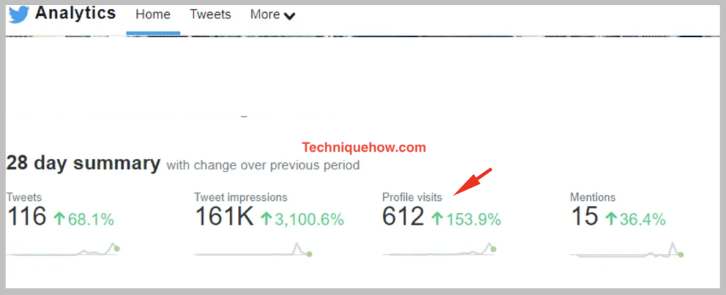 twitter analytics-profile visits