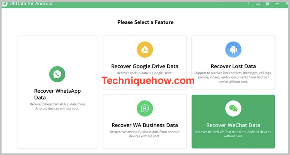 ultdata recovery wechat