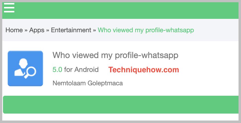 who viewed my profile - whatsapp